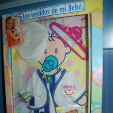 Juguetes antiguos y Juegos de colección: VESTIDITO DEL BABY BEBE DE FEBER. Lote 34333200