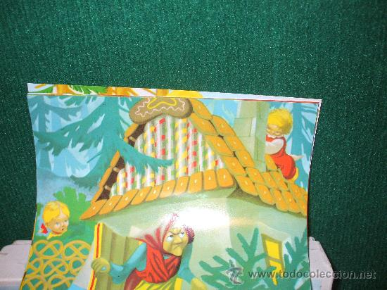 Juguetes antiguos y Juegos de colección: Rompecabezas en cubos con temas de cuentos tradicionales , mide20 x 18 aprox ,es de los 60 - Foto 3 - 34596683