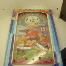 Juguetes antiguos y Juegos de colección: FLIPPER PINBALL BILLARIN FUTBOL MUNDIAL ESPAÑA 82 JUGUETES PIQUE. Lote 34729343