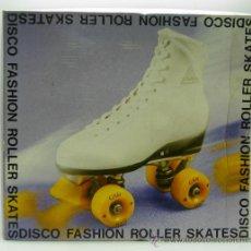 Juguetes antiguos y Juegos de colección: ROLLER SKATES PATINES BOTA AMERICANOS VINTAGE Nº 7 Y MEDIO 30 AÑOS 80. Lote 202437008