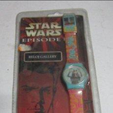 Juguetes antiguos y Juegos de colección: STAR WARS RELOJ DIGITAL, JAR JAR BINKS, EN BLISTER. CC. Lote 35681613
