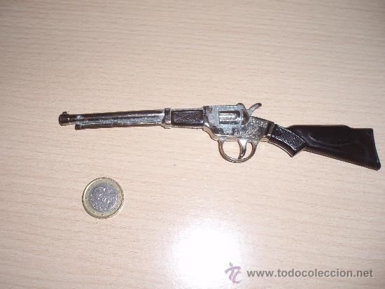 Juguetes antiguos y Juegos de colección: rifle fort laramie - Foto 4 - 35930714