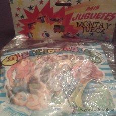 Juguetes antiguos y Juegos de colección: SOBRE SORPRESA MONTA-PLEX AÑOS 60- 70 LOTE DE 5 UNIDADES. Lote 36006784