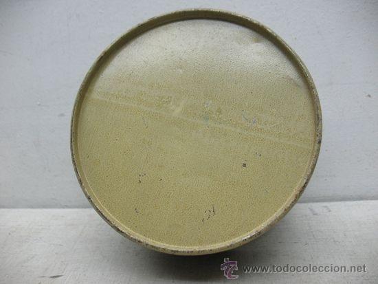 Juguetes antiguos y Juegos de colección: ALCOY - Antiguo tambor metálico - Foto 6 - 36087571