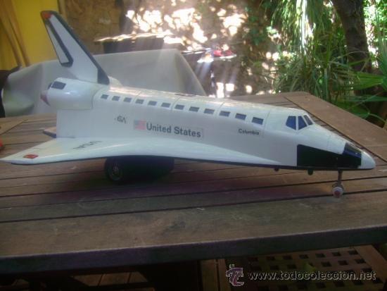 JUGUETE AVION NASA UNITED STATES COLUMBIA 50 CM !!!! PIEZA UNICA A LA VENTA MIRALO !!! (Juguetes - Varios)