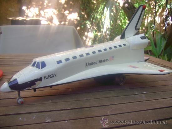 Juguetes antiguos y Juegos de colección: juguete avion nasa united states columbia 50 cm !!!! pieza unica a la venta miralo !!! - Foto 3 - 36193284