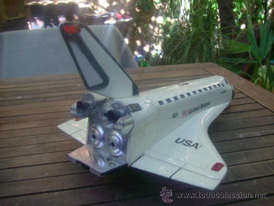 Juguetes antiguos y Juegos de colección: juguete avion nasa united states columbia 50 cm !!!! pieza unica a la venta miralo !!! - Foto 5 - 36193284
