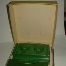 Juguetes antiguos y Juegos de colección: ANTIGUO Y BONITO JUEGO DE ESCRIBANIA DE JUGUETE DE BAKELITA.. Lote 37195794