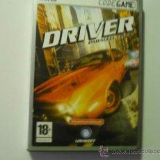 Juguetes antiguos y Juegos de colección: JUEGO PC DVD DRIVER PARALLEL LINES.- CODEGAME. Lote 37521743