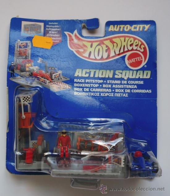 Hot Wheels Action Squad Auto City Ano 1995 Comprar En
