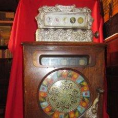 Juguetes antiguos y Juegos de colección: ESPECTACULAR MÁQUINA DE JUEGOS MARCA CAILLE EN FUNCIONAMIENTO. . Lote 37614790