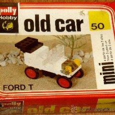 Juguetes antiguos y Juegos de colección: POLLY HOBBY OLD CAR 50 FORD T AÑO 1978 SIN DESPRECINTAR. Lote 37657067
