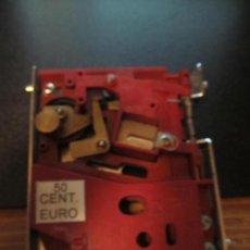 Juguetes antiguos y Juegos de colección: M69 MONEDERO MAQUINA RECREATIVA O TRAGAPERRAS 0,5 EUROS CLIKERS SA ??. Lote 37810591