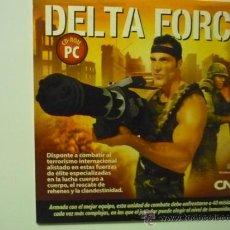 Juguetes antiguos y Juegos de colección: JUEGO CD ROM PC -DELTA FORCE. Lote 38038572