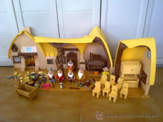 Antigua casa de blancanieves y los siete enanit comprar - Casa de blancanieves y los 7 enanitos simba ...