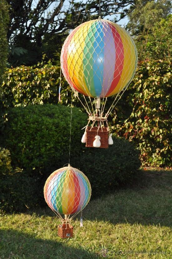 Como hacer un globo aerostatico real