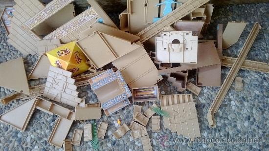 Juguetes antiguos y Juegos de colección: piramide de playmobil - Foto 3 - 38744945
