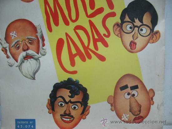 Juguetes antiguos y Juegos de colección: MIL CARICATURAS CON MULTICARAS - PATENTE 43.074 - Foto 3 - 38838819