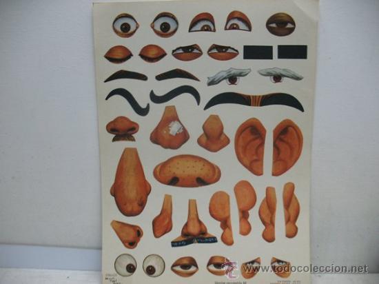 Juguetes antiguos y Juegos de colección: MIL CARICATURAS CON MULTICARAS - PATENTE 43.074 - Foto 7 - 38838819