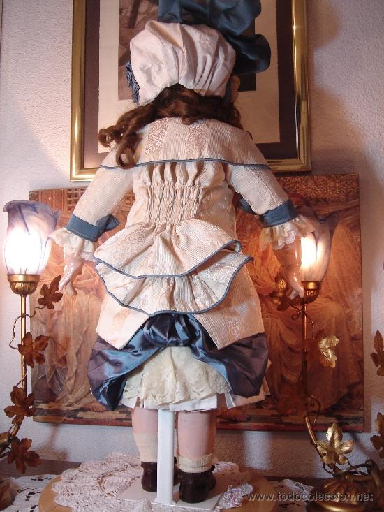 Juguetes antiguos y Juegos de colección: Reproducción Vestido Muñeca Francesa Antigua Jumeau de patron original de Ernestine Jumeau - Foto 2 - 39273356