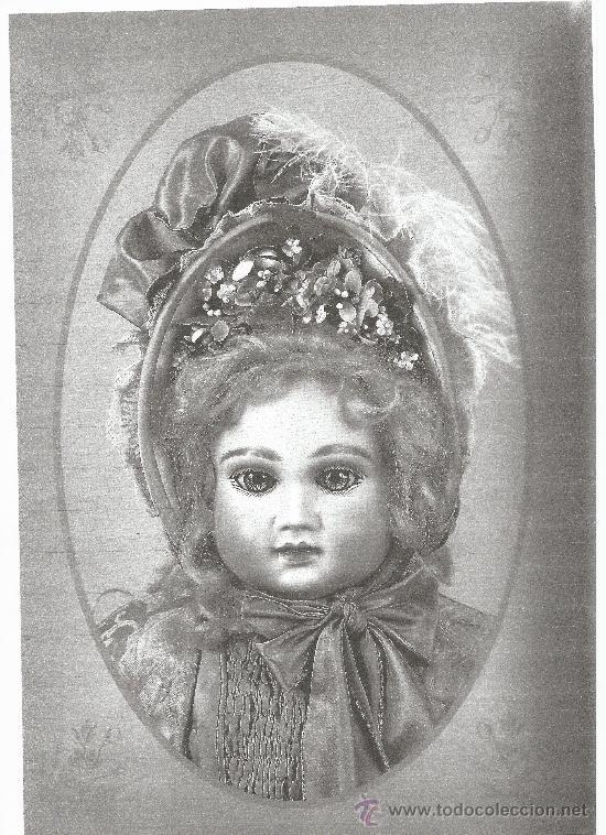 Juguetes antiguos y Juegos de colección: Reproducción Vestido Muñeca Francesa Antigua Jumeau de patron original de Ernestine Jumeau - Foto 4 - 39273356