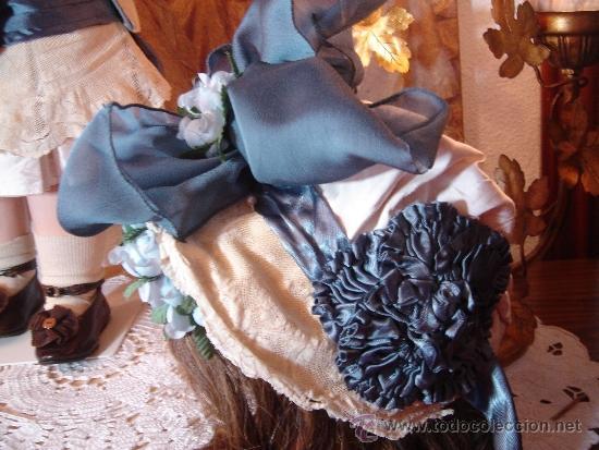 Juguetes antiguos y Juegos de colección: Reproducción Vestido Muñeca Francesa Antigua Jumeau de patron original de Ernestine Jumeau - Foto 5 - 39273356