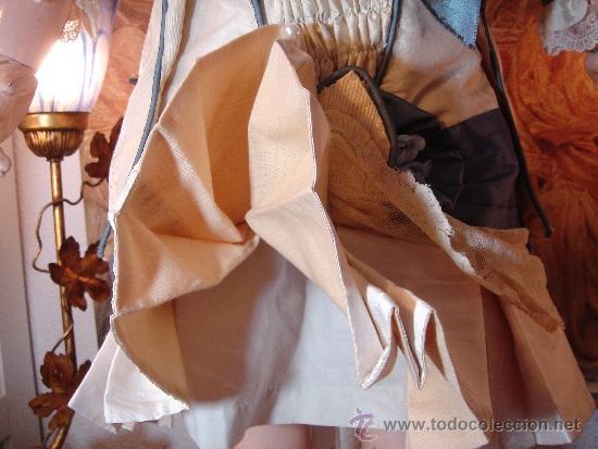 Juguetes antiguos y Juegos de colección: Reproducción Vestido Muñeca Francesa Antigua Jumeau de patron original de Ernestine Jumeau - Foto 6 - 39273356