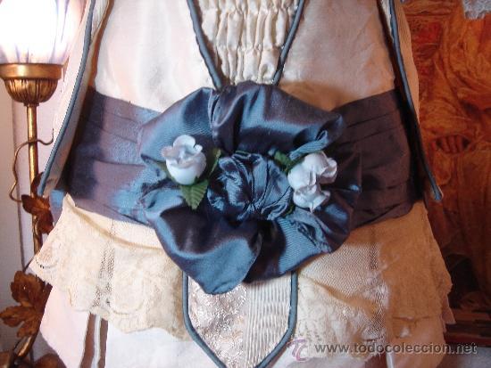 Juguetes antiguos y Juegos de colección: Reproducción Vestido Muñeca Francesa Antigua Jumeau de patron original de Ernestine Jumeau - Foto 7 - 39273356