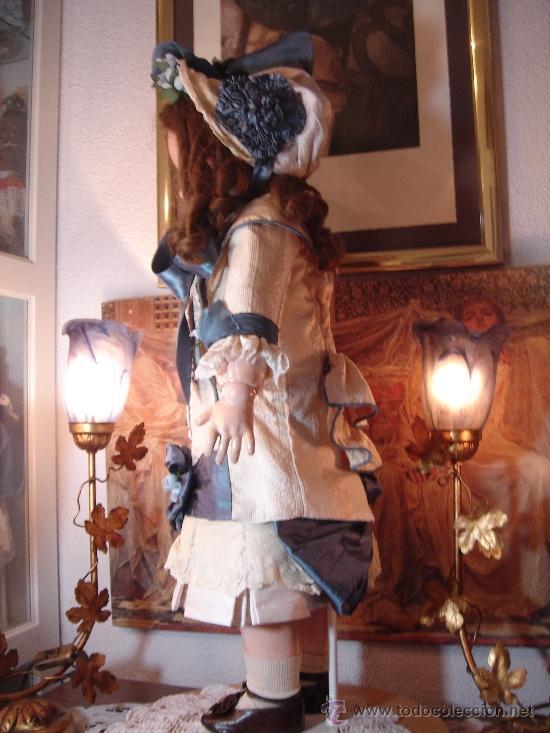 Juguetes antiguos y Juegos de colección: Reproducción Vestido Muñeca Francesa Antigua Jumeau de patron original de Ernestine Jumeau - Foto 8 - 39273356