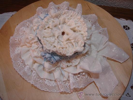 Juguetes antiguos y Juegos de colección: Sombrero Gorro Campana para Muñeca Antigua Francesa Jumeau Bru - Foto 3 - 39286792