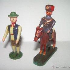 Juguetes antiguos y Juegos de colección: ANTIGUOS JUGUETES DE MADERA.. Lote 39419005