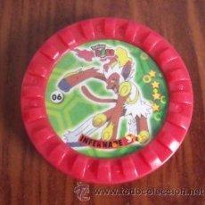 Juguetes antiguos y Juegos de colección: TAZO Nº 06 POKÉMON ROKS TAZOS - MATUTANO. Lote 40006781