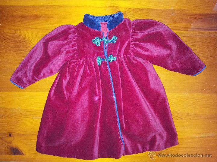 ABRIGO PARA MUÑECAS DE 60 CM (Juguetes - Vestidos y Accesorios Muñeca Extranjera Antigua)