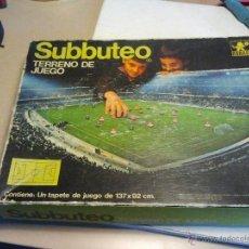 Juguetes antiguos y Juegos de colección: SUBBUTEO DE BORRAS CAMPO DE JUEGO. Lote 40037990