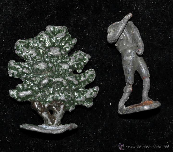 Juguetes antiguos y Juegos de colección: GRAN CONJUNTO ZOOLÓGICO CON VARIOS ANIMALES Y PIEZAS EN PLOMO. AÑOS 30-40. CASANELLAS - Foto 3 - 40054953