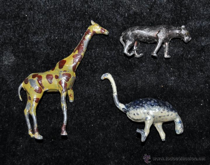 Juguetes antiguos y Juegos de colección: GRAN CONJUNTO ZOOLÓGICO CON VARIOS ANIMALES Y PIEZAS EN PLOMO. AÑOS 30-40. CASANELLAS - Foto 7 - 40054953