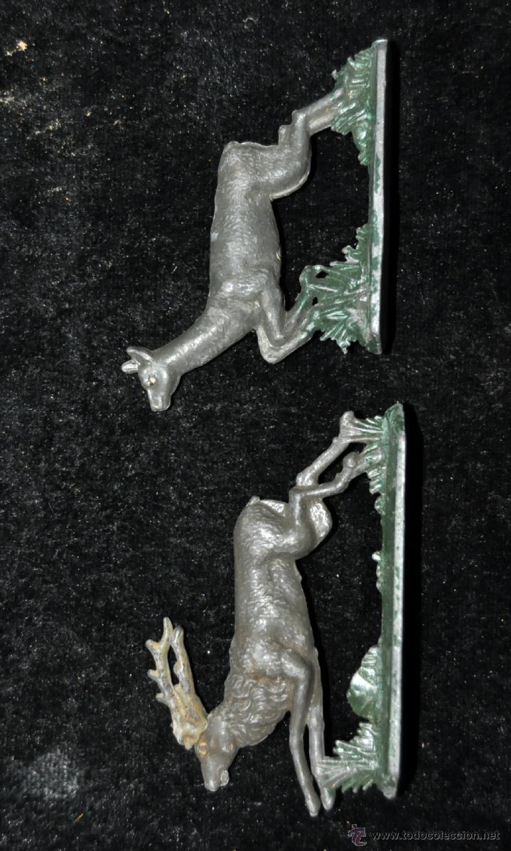 Juguetes antiguos y Juegos de colección: GRAN CONJUNTO ZOOLÓGICO CON VARIOS ANIMALES Y PIEZAS EN PLOMO. AÑOS 30-40. CASANELLAS - Foto 13 - 40054953