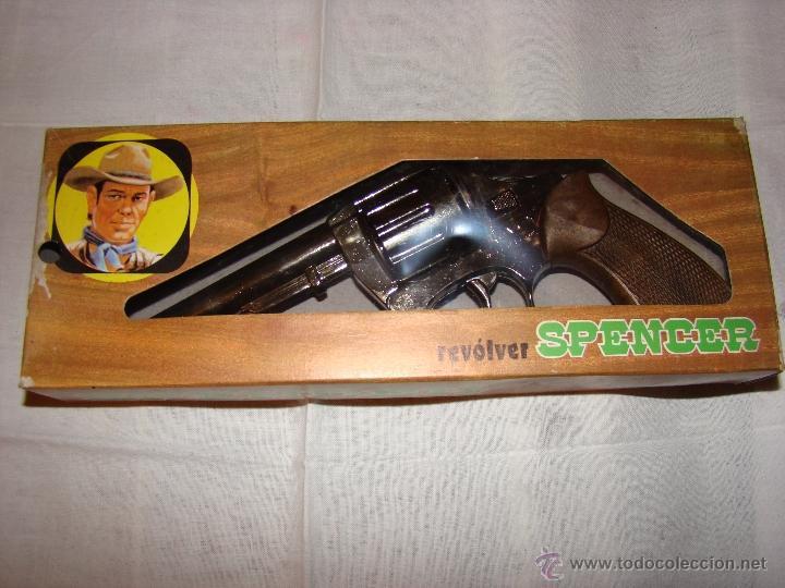 Juguetes antiguos y Juegos de colección: AVC Pistola /Revólver de Juguete. Nuevo en Caja- Giusseppe - Foto 2 - 135592954