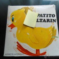 Juguetes antiguos y Juegos de colección: JUGUETE MUÑOZ MUÑECO ANIMADO PATO PATITO SALTARIN PATENTADO EN ESPAÑA FUNCIONA VINTAGE. Lote 40315715