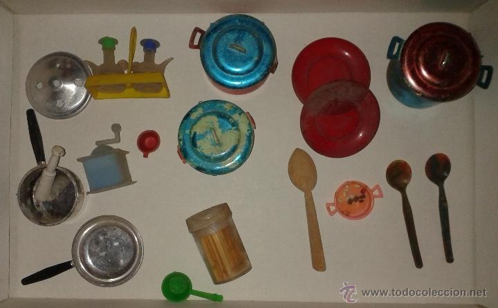Accesorios cocina juguete cocinita a os 60 comprar en for Cocina juguete segunda mano
