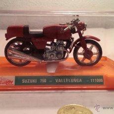 Juguetes antiguos y Juegos de colección: SUZUKI 750 VALLELUNGA. Lote 40590054