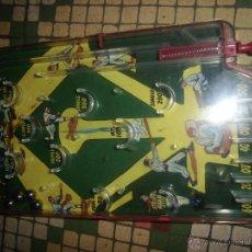 Juguetes antiguos y Juegos de colección: BASEBALL GAME BEISBOL JUGUETE MAQUINA DE BOLAS PINBALL HOJALATA. Lote 40850792