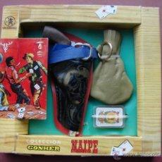 Juguetes antiguos y Juegos de colección: REVOLVER NAIPE - GONHER. Lote 40880300