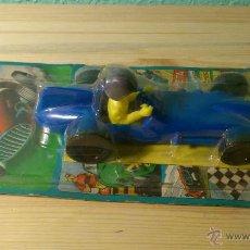 Juguetes antiguos y Juegos de colección: COCHE DE JUGUETE BOLIDO EN SU CAJA ORIGINAL SHAMBERS MADE IN SPAIN. Lote 40900272