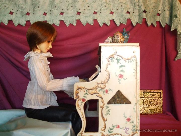 Juguetes antiguos y Juegos de colección: MUÑECO SUPER ARTICULADO DE RESINA DE 60 CENTÍMETROS - Foto 7 - 41093194