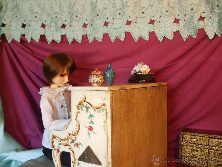 Juguetes antiguos y Juegos de colección: MUÑECO SUPER ARTICULADO DE RESINA DE 60 CENTÍMETROS - Foto 8 - 41093194