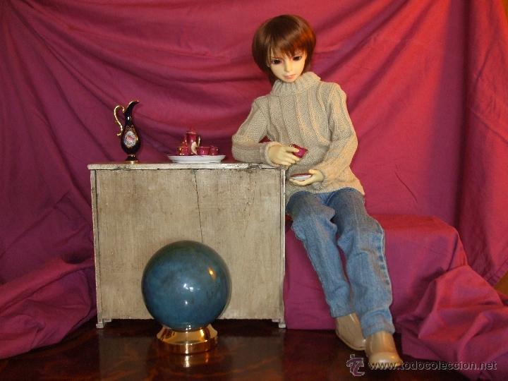 Juguetes antiguos y Juegos de colección: MUÑECO SUPER ARTICULADO DE RESINA DE 60 CENTÍMETROS - Foto 15 - 41093194