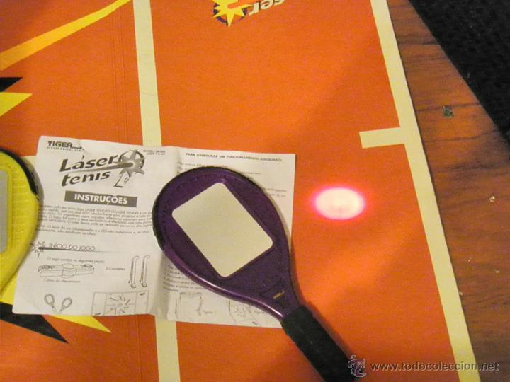 Juguetes antiguos y Juegos de colección: JUGUETE VINTAGE ELECTRONICO LASER TENIS TIGER ELECTRONICS - Foto 6 - 41291276