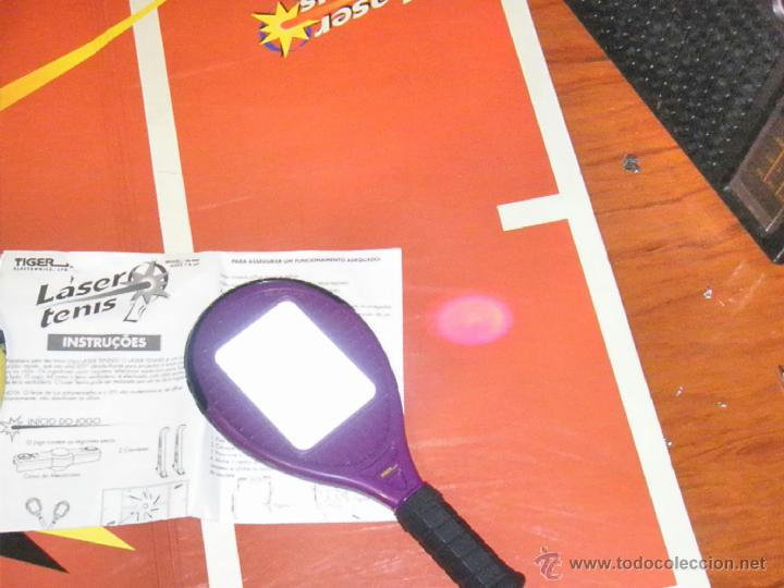 Juguetes antiguos y Juegos de colección: JUGUETE VINTAGE ELECTRONICO LASER TENIS TIGER ELECTRONICS - Foto 7 - 41291276