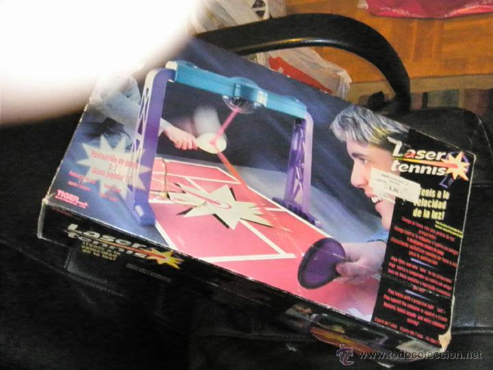 Juguetes antiguos y Juegos de colección: JUGUETE VINTAGE ELECTRONICO LASER TENIS TIGER ELECTRONICS - Foto 8 - 41291276